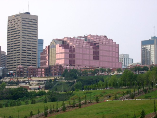 Canada Place Downtown Edmonton